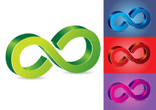 Infinity Symbol Vector Illustration Royalty Free Stock Photo