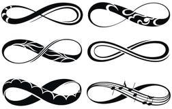 Infinity symbols Stock Photo