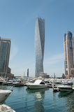 Infinity tower skyscraper in Dubai Stock Photos