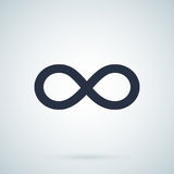 Infinity - Vector icon. Endless symbol illustration. Infinity symbol isolated on background Stock Illustration