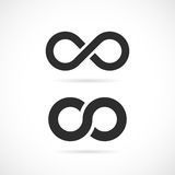Infinity vector symbol. On white background Royalty Free Illustration