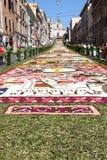 Infiorata de Genzano Foto de Stock Royalty Free