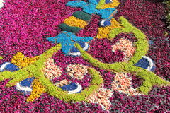 Infiorata of Genzano Stock Photo