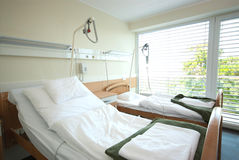 Infirmary II. Patient rooms in a modern clinic Stock Photography