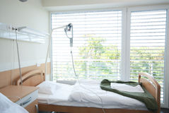 Infirmary III. 2-bed ward in a modern clinic Royalty Free Stock Photography