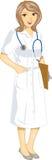 Infirmière illustration stock