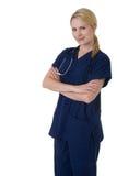 Infirmière confiante photographie stock libre de droits