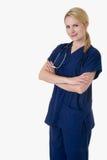 Infirmière confiante Images libres de droits