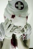 Infirmière critique image stock