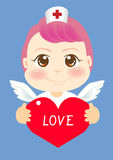 Infirmière d'ange illustration stock
