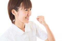 Infirmière de jeunes Photographie stock libre de droits