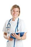 Infirmière de sourire photos libres de droits