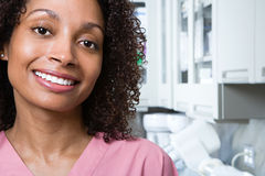 Infirmière dentaire photo libre de droits