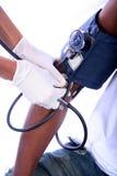 Infirmière et patient Photographie stock libre de droits