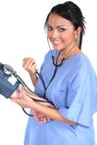 Infirmière féminine mignonne, docteur, ouvrier médical Images stock