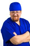 Infirmière mâle Photo stock