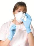 Infirmière ou docteur photographie stock libre de droits