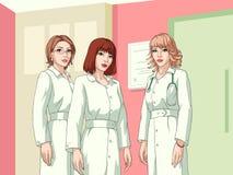 Infirmières Image stock