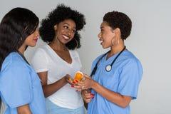 Infirmières dans l'hôpital images stock