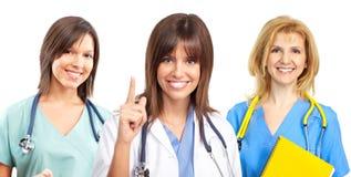 infirmières de docteur Images libres de droits