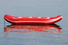 Inflável vermelho Imagens de Stock