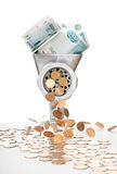 Inflação Foto de Stock