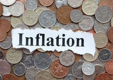 inflação Imagem de Stock