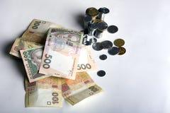 Inflação, dinheiro e papel Imagens de Stock