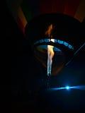 Inflação do balão de ar quente Fotografia de Stock Royalty Free