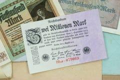 Inflação histórica Fotografia de Stock