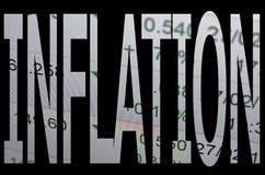 inflacja Zdjęcia Royalty Free