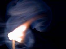 Inflamação da vara do fósforo Foto de Stock