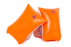 Inflatable armbands Royalty Free Stock Image