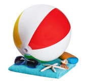 Inflatable ball games and accessories Stock Photos