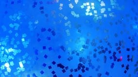 Inflatable balloon with confetti inside. At the celebration party stock footage