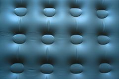 Inflatable  blue background. Abstract blue tinted inflatable background Royalty Free Stock Images