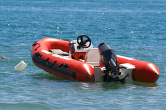 Inflatable boat Royalty Free Stock Photos
