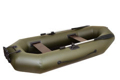 Inflatable boat Royalty Free Stock Images