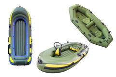 Inflatable Boats Royalty Free Stock Image