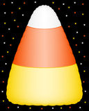 Inflatable candy corn decoration Royalty Free Stock Photo