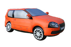 Inflatable car model Royalty Free Stock Photo