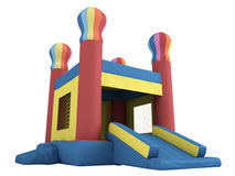 Inflatable castle Royalty Free Stock Images