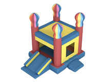 Inflatable castle Royalty Free Stock Image