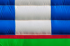 Inflatable castle wall texture Royalty Free Stock Image