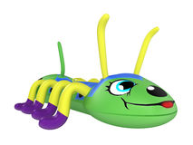 Inflatable centipede toy Stock Photos