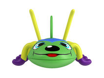 Inflatable centipede toy Stock Photo