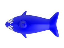 Inflatable dolphin Royalty Free Stock Photography