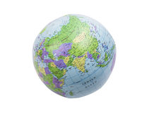 Inflatable globe isolated Stock Photos
