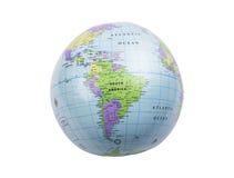 Inflatable globe isolated Stock Photo