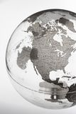 Inflatable Globe showing North America royalty free stock photo
